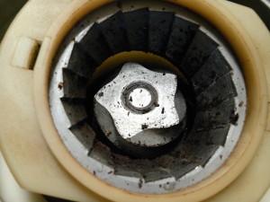 独自のコーン式(円錐)刃を採用